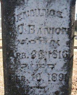 Jennings Alexander O'Banion