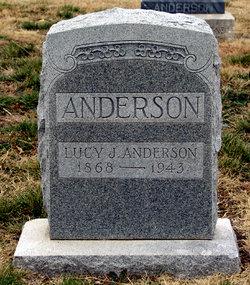 Lucy J. <i>Charlton</i> Anderson