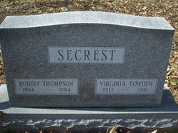 Virginia Belle <i>Bowden</i> Secrest