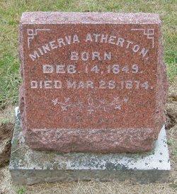 Minerva <i>Jones</i> Atherton