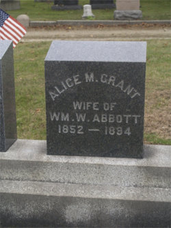 Alice M. <i>Grant</i> Abbott