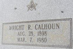 Wright R Calhoun