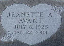Jeanette A. Avant