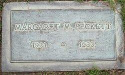 Margaret <i>Mccarthy</i> Beckett