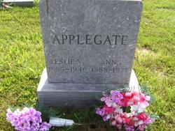 Leslie Vernon Applegate