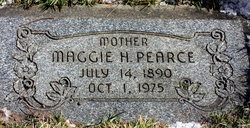 Maggie James <i>Howells</i> Pearce