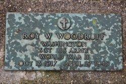 Sgt Roy W Woodruff
