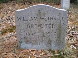 William Wethrell Brewster