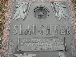 Clarence Mallory Bud Slaughter, Jr