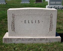 Effie Alverta <i>Spangler</i> Ellis