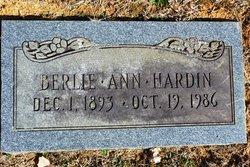 Berlie Ann Hardin