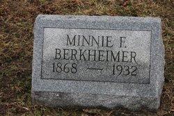 Minnie F Berkheimer