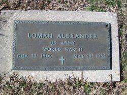 Loman Alexander