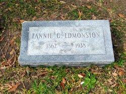 Fannie G Edmonston