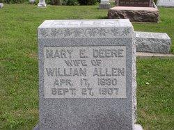 Mary E. <i>Deere</i> Allen