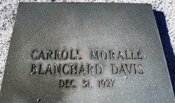 Carroll Moralle <i>Blanchard</i> Davis