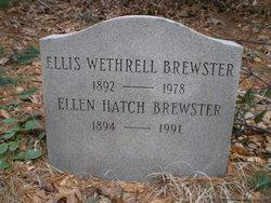 Ellis Wethrell Brewster