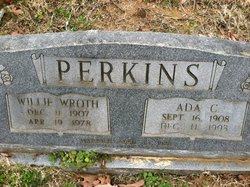 Willie Wroth Perkins