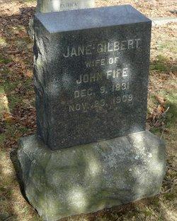 Jane <i>Gilbert</i> Fife