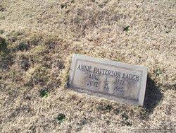 Annie Patterson Baugh