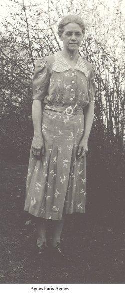 Agnes Nona <i>Faris</i> Agnew
