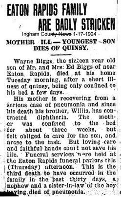 Wayne E Biggs