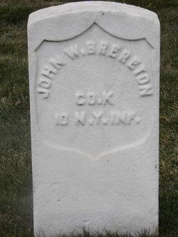 John W Brereton