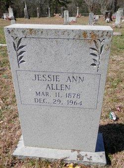 Jessie Ann <i>Skidmore</i> Allen