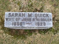 Sarah Margaret <i>Quick</i> Hibbler