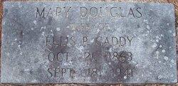 Mary Elizabeth <i>Douglas</i> Gaddy