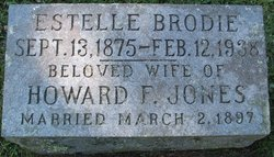 Estelle <i>Brodie</i> Jones