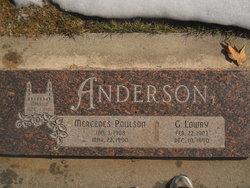 Mercedes <i>Poulson</i> Anderson