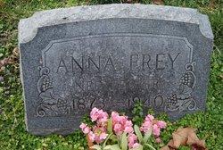 Juliana Ernestine Anna <i>Tegeler</i> Frey
