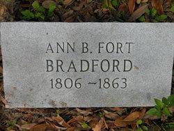 Ann Bryan Nancy <i>Fort</i> Bradford