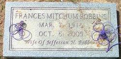 Frances Mitchum Robbins