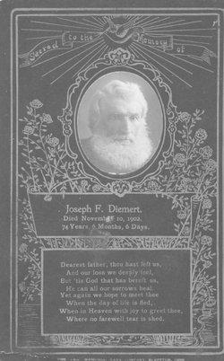Joseph Francis Frank Diemert, Sr