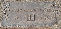Grady Marvin Baxter