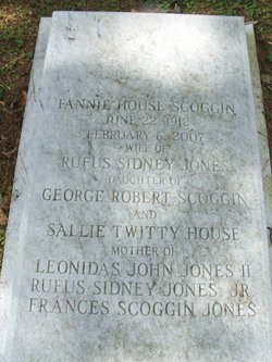 Fannie House <i>Scoggin</i> Jones