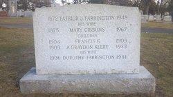 Mary <i>Gibbons</i> Farrington