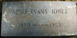 Adele <i>Evans</i> Jones