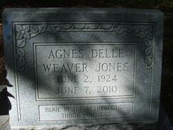 Agnes Delle <i>Weaver</i> Jones