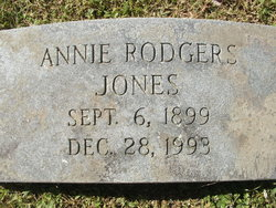 Annie <i>Rodgers</i> Jones