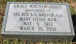Grace <i>Wagner</i> Jones