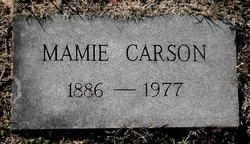 Mamie T. <i>Pittman</i> Carson