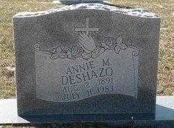 Annie Matilda <i>Pittman</i> DeShazo