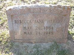 Rebecca Jane Becky <i>McDonald</i> Herrin