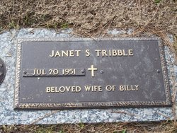 Janet Sue <i>Holland</i> Tribble