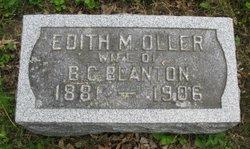 Edith <i>Oller</i> Blanton
