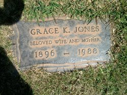 Grace K <i>Petrie</i> Jones