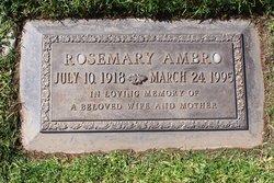 Rosemary <i>Biby</i> Ambro